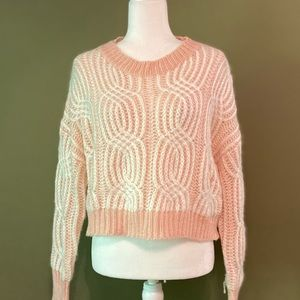 SHEIN NWOT cropped sweater S